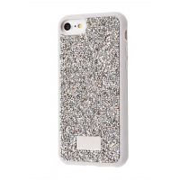 Чехол Bling World Grainy Diamonds (TPU) iPhone 7/8 Silver
