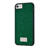 Чехол Bling World Circle Diamonds (TPU) iPhone 7/8 Green