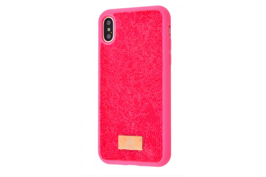 Чехол Bling World Grainy Diamonds (TPU) iPhone X/Xs Pink