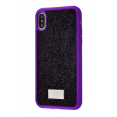 Чехол Bling World Grainy Diamonds (TPU) iPhone X/Xs Purple