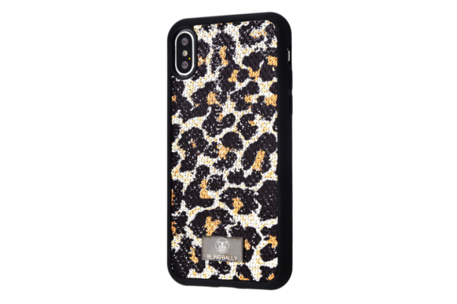 Чехол Bling World Leo and Snake (TPU) iPhone X/Xs Leopard