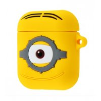 Чехол Soft Funny Case для AirPods Minion One Eye
