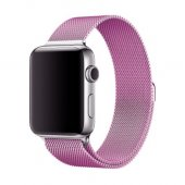 Ремешок для Apple Watch Milanese Loop 38/40/42/44mm Light Purple