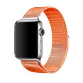 Ремешок для Apple Watch Milanese Loop 38/40/42/44mm Orange
