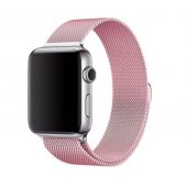 Ремешок для Apple Watch Milanese Loop 38/40/42/44mm Pink