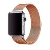 Ремешок для Apple Watch Milanese Loop 38/40/42/44mm Sand Gold