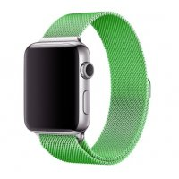 Ремешок для Apple Watch Milanese Loop 38/40/42/44mm Mint Gum