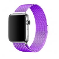 Ремешок для Apple Watch Milanese Loop 38/40/42/44mm Purple