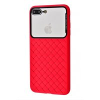 Чехол Weaving Case iPhone для 7/8 Plus Red
