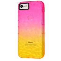 Чехол Gradient gelin case для iPhone 7/8 Pink Yellow