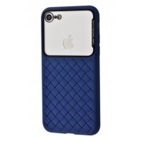 Чехол Weaving Case для iPhone 7/8 Blue