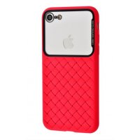 Чехол Weaving Case для iPhone 7/8 Red