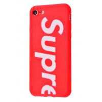 Чехол Supreme cover для iPhone 7/8 Red