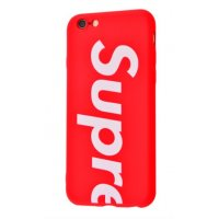 Чехол Supreme cover для iPhone 6/6s Red