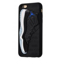 Чехол Fila and Supreme case для iPhone 6/6s Jordan Black Grey