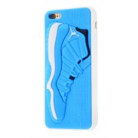 Чехол Fila and Supreme case для iPhone 6/6s Jordan Blue White