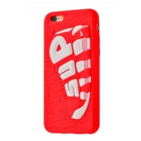 Чехол Fila and Supreme case для iPhone 6/6s Sup Red White