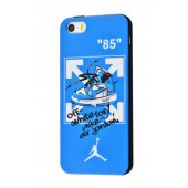 Чехол IMD case Young style для iPhone 5/5s/SE Blue Time