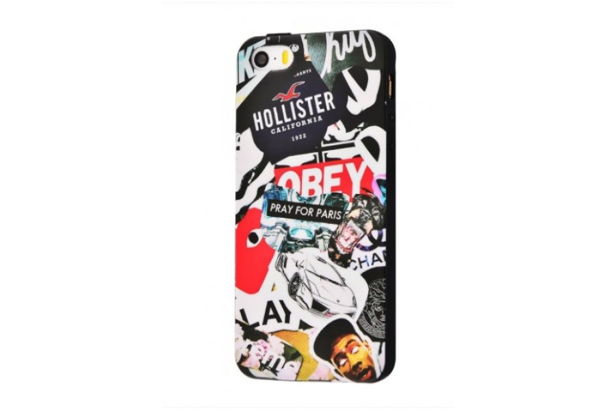 Чехол IMD case Young style для iPhone 5/5s/SE Obey