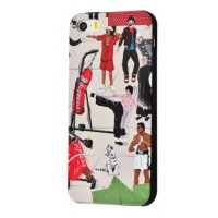 Чехол IMD case Young style для iPhone 5/5s/SE Sport