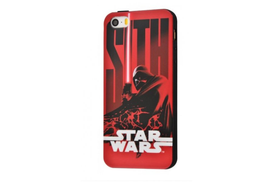 Чехол IMD case Young style для iPhone 5/5s/SE Star Wars