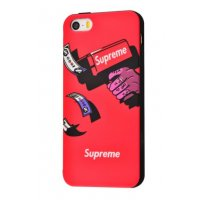 Чехол IMD case Young style для iPhone 5/5s/SE Supreme Red