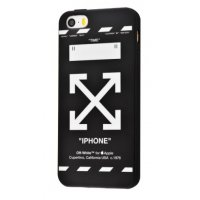 Чехол IMD case Young style для iPhone 5/5s/SE Time