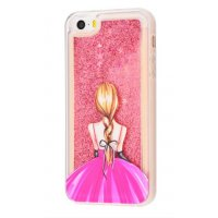 Чехол Lovely Stream для iPhone 5/5s/SE Back Girl In A Dress