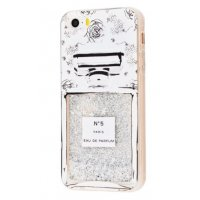 Чехол Lovely Stream для iPhone 5/5s/SE Big Silver Perfume