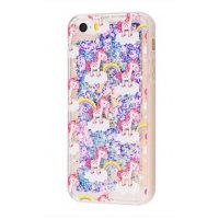 Чехол Lovely Stream для iPhone 5/5s/SE Little Unicorns And Rainbow