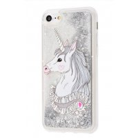 Чехол Lovely Stream для iPhone 5/5s/SE Silver Unicorn