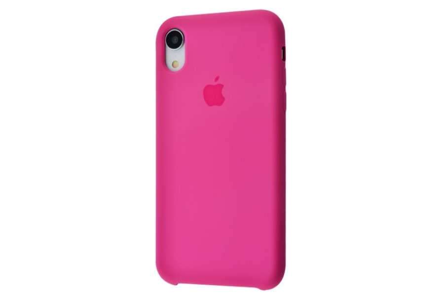 Силиконовый чехол Apple iPhone Xr Silicone Case OEM Dragon Fruit