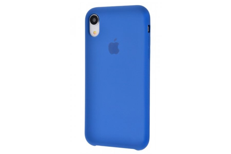 Силиконовый чехол Apple iPhone Xr Silicone Case OEM Ocean Blue