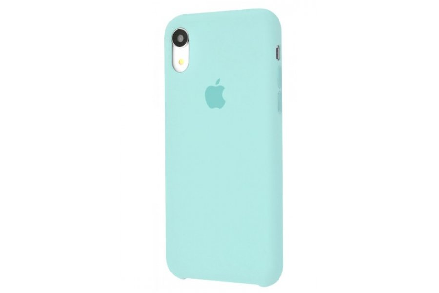 Силиконовый чехол Apple iPhone Xr Silicone Case OEM Turquoise