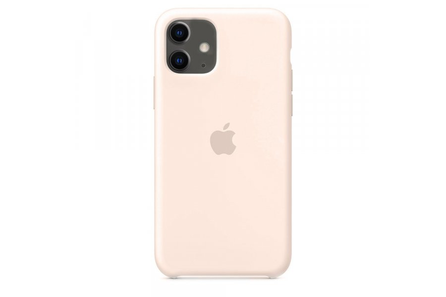Силиконовый чехол Apple iPhone 11 Silicone Case OEM Pink Sand