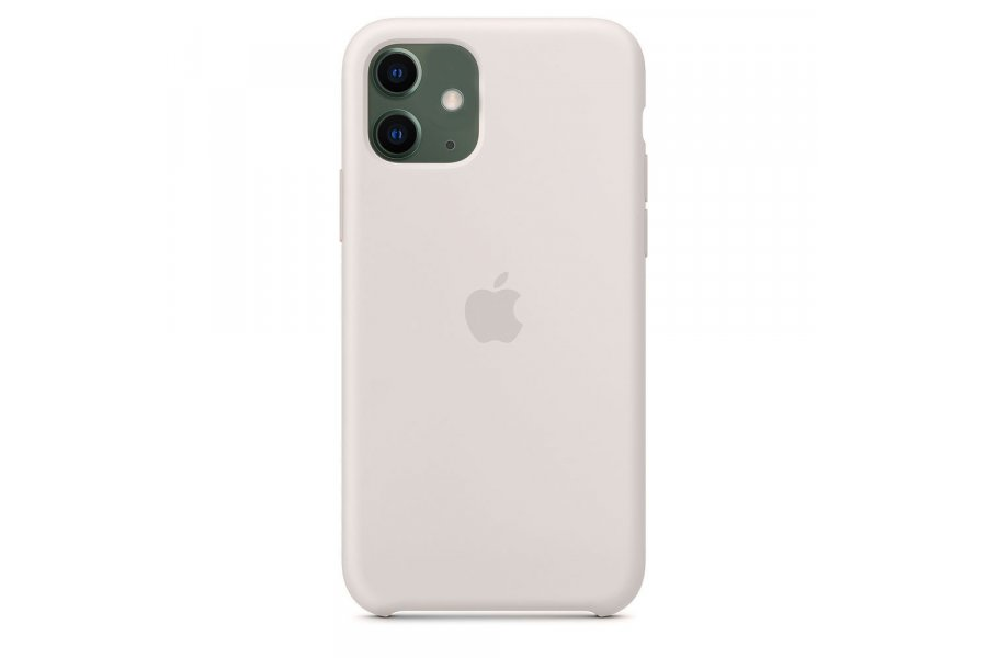 Силиконовый чехол Apple iPhone 11 Silicone Case OEM Stone