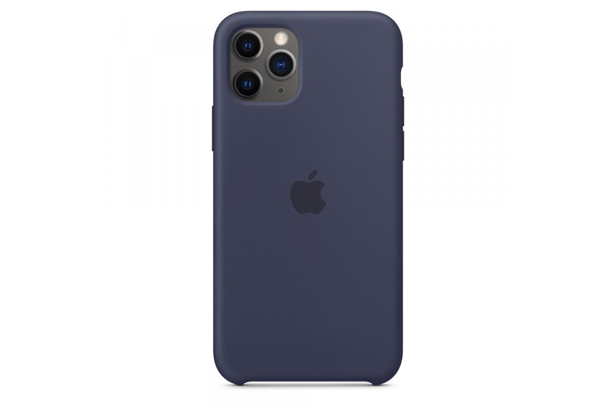 Силиконовый чехол Apple iPhone 11 Pro Silicone Case OEM Midnight Blue