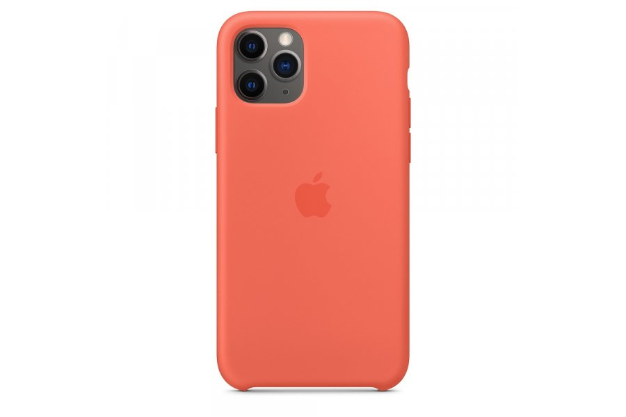 Силиконовый чехол Apple iPhone 11 Pro Silicone Case OEM Nectarine