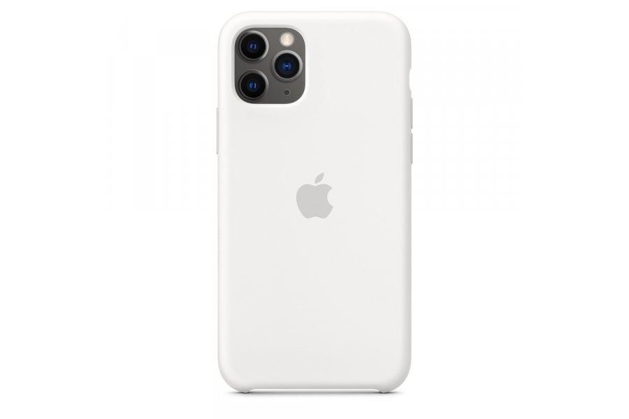Силиконовый чехол Apple iPhone 11 Pro Max Silicone Case OEM White