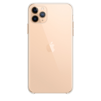 Чехол Silicone Case для iPhone 11 Pro Max Transparent