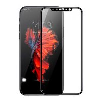 Защитное стекло Baseus PET Soft 3D Tempered Glass 0.23mm Black для iPhone 11 Pro