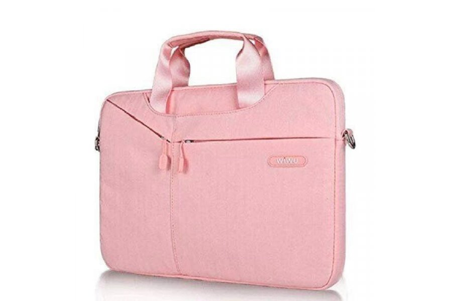 Сумка WIWU Gent Brief Case для MacBook Air/Pro 13 Pink