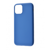 Чехол Silicone cover My Colors with Packing для iPhone 11 Dark Blue