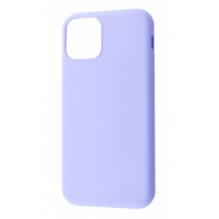 Чехол Silicone cover My Colors with Packing для iPhone 11 Light Purple