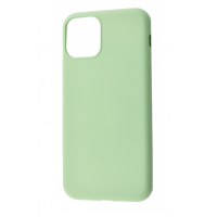 Чехол Silicone cover My Colors with Packing для iPhone 11 Mint Gum