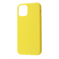 Чехол Silicone cover My Colors with Packing для iPhone 11 Yellow