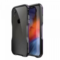Бампер Luphie Ultra Luxury для iPhone XR Black Purple