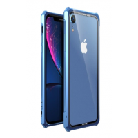 Чехол-Бампер Luphie Fundas для iPhone XR Blue