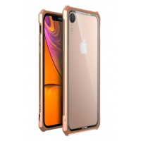 Чехол-Бампер Luphie Fundas для iPhone XR Gold