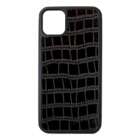 Чехол для iPhone 11 Croco Black